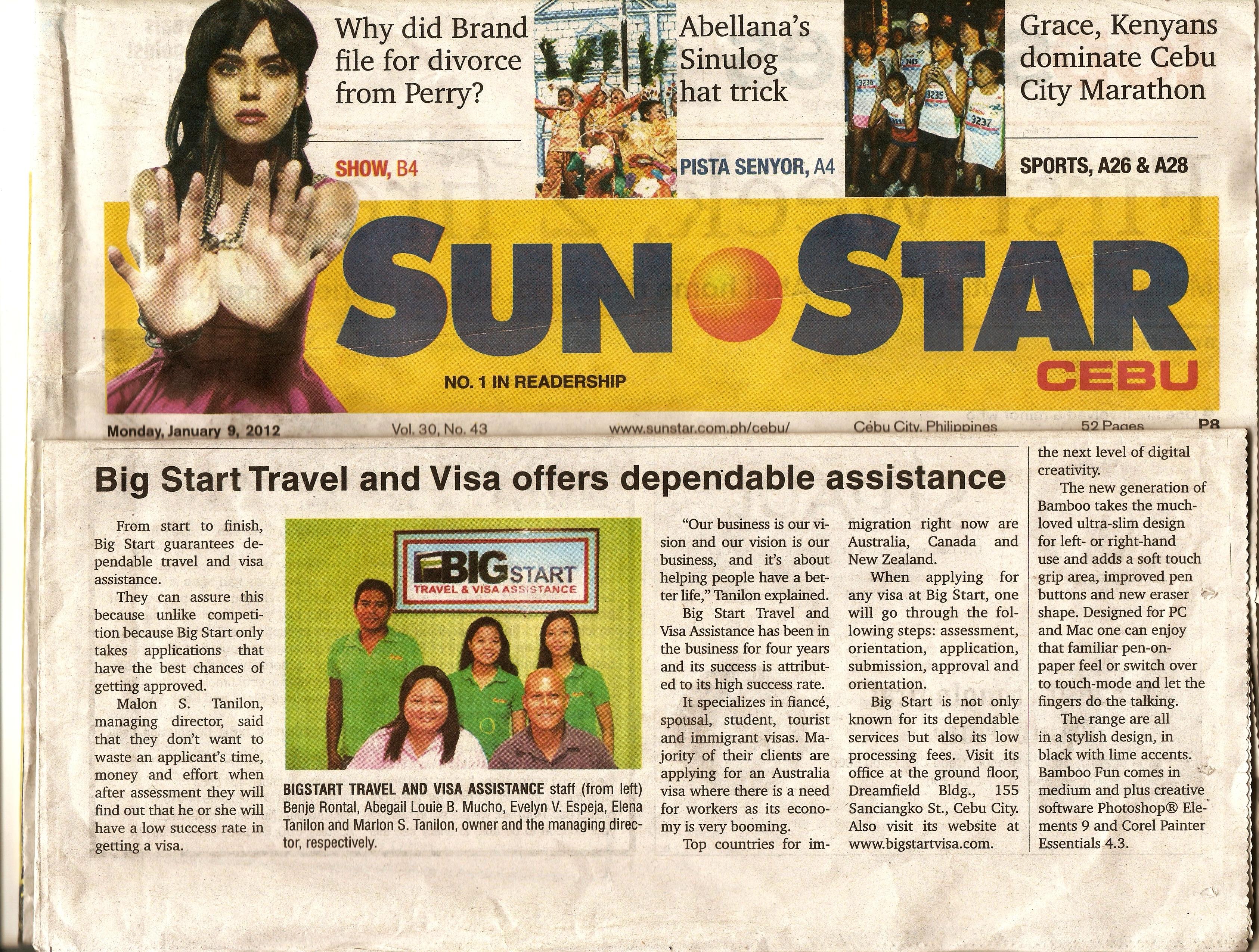 Bigstart Travel and Visa Assistance Staff