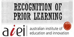Learn more about Recognition of Prior Learning