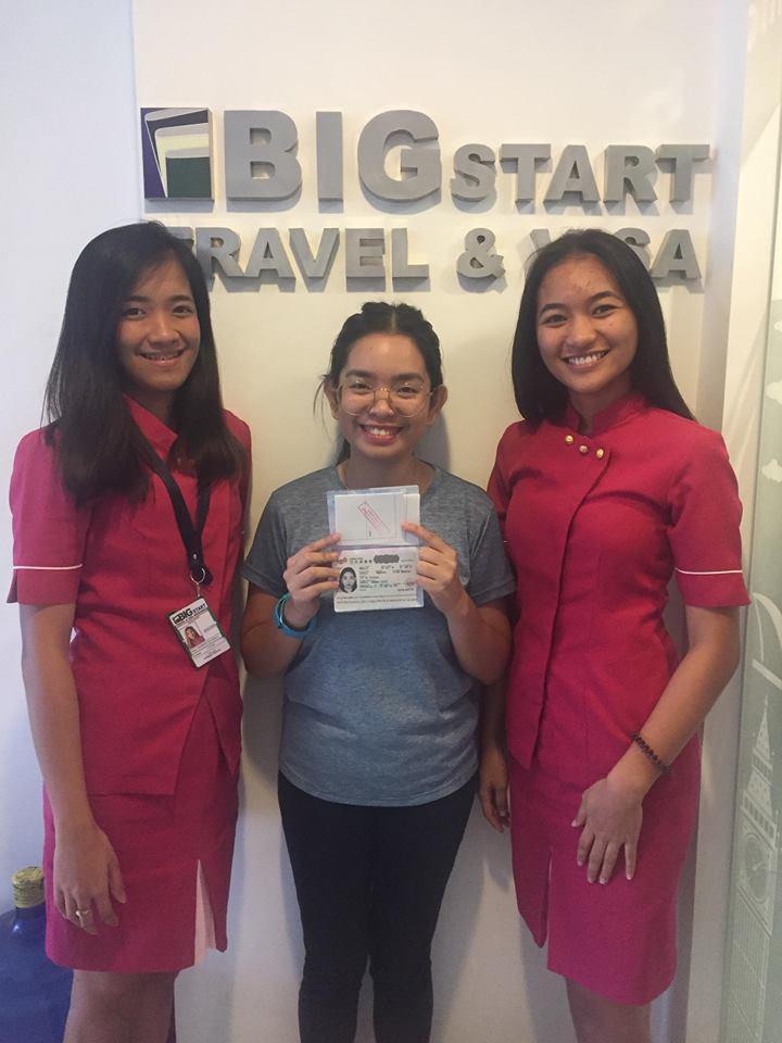 JAPAN: STUDENT VISA GRANTED-MS  GAMULO – BIGStart Travel
